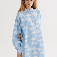 Lazy Oaf Sometimes Cloudy Shirt - Autumn 2017 - Seasons - Womens