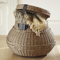 Baskets, Decorative Storage Baskets, Woven Trays | Pottery Barn