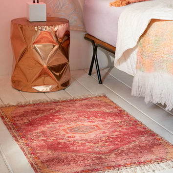 Zelda Kilim Printed Chenille Rug | Urban Outfitters