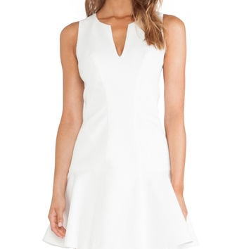 Black Halo x REVOLVE Nova Mini Dress in White