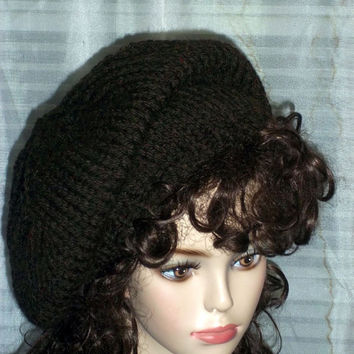 Hand Knit Slouch Hat