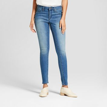 Women's Mid-Rise Jeggings - Universal Thread™ Medium Wash