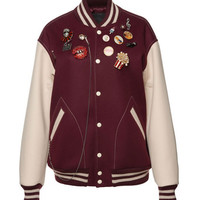 Marc Jacobs Oversized Felt Varsity Jacket - Marc Jacobs