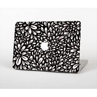 The Black Floral Sprout Skin Set for the Apple MacBook Air 13""