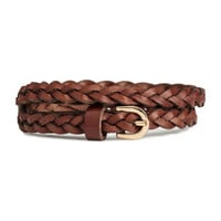 H&M Braided Leather Belt $12.99