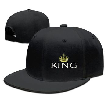 King And Queen Couple Lover Men Funny Unisex Adult Womens Hip-hop Hat Mens Baseball Cap