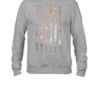 Vintage USA Flag - Crewneck Sweatshirt