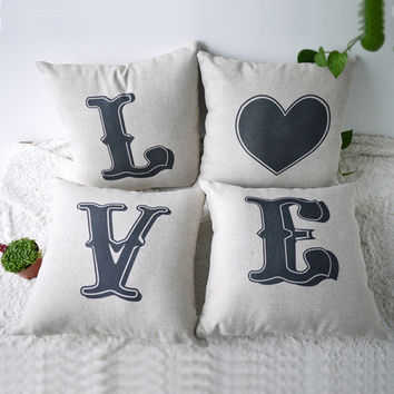 Home Decor Pillow Cover 45 x 45 cm = 4798537412