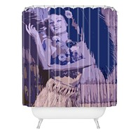 Deb Haugen Hula Honey Shower Curtain