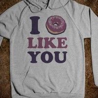 I Doughnut Like You (Hoodie) - Kawaii