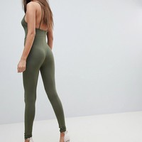 PrettyLittleThing Cami Strap Jumpsuit at asos.com