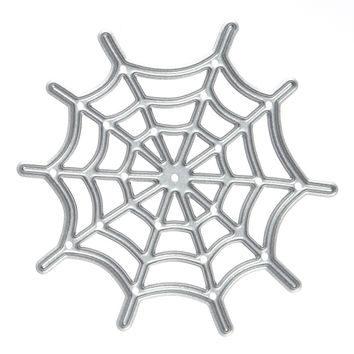 Metal spider Web Cutting Dies Stencils for DIY Scrapbooking photo album Decorative Embossing DIY Paper Cards