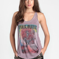 Pink Floyd Airmen Burnout Tank By Chaser - $59.00 : ThreadSence, Women's Indie & Bohemian Clothing, Dresses, & Accessories
