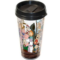 Family Guy Cast Travel Mug - ICUP - Family Guy - Mugs at Entertainment Earth