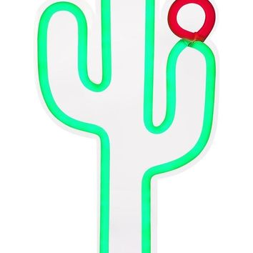 Cactus Neon LED Wall Small