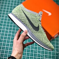 Nike Air Zoom Mariah Flyknit Racer Macaron Pack Pistachio Sport Running Shoes - Best Online Sale