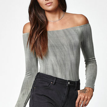 LA Hearts Washed Off-The-Shoulder Top at PacSun.com