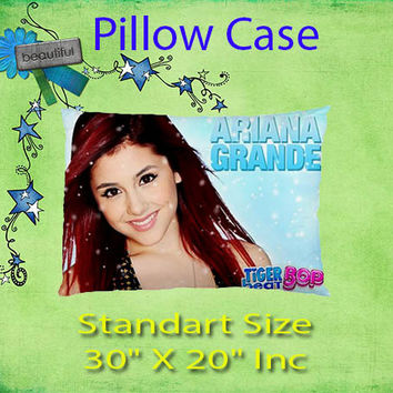 Ariana Grande Custom Bedding Pillow Case Standart Size Gift Ideas