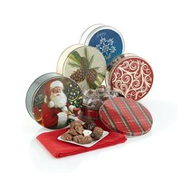Giannios Assorted Chocolates 5-pack in 1 lb. Holiday Tins - Receive by 12/15 - 8180296 | HSN
