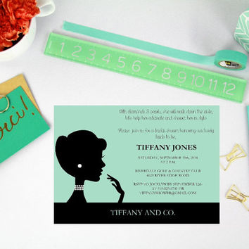 Bride and Co Printable bridal shower invitation