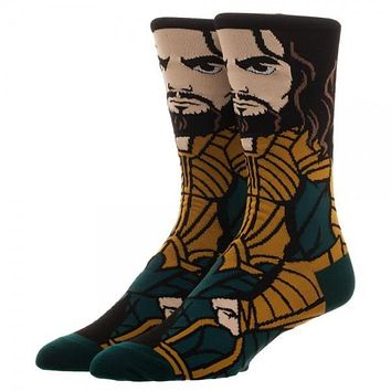 DC Aquaman 360 Crew Socks