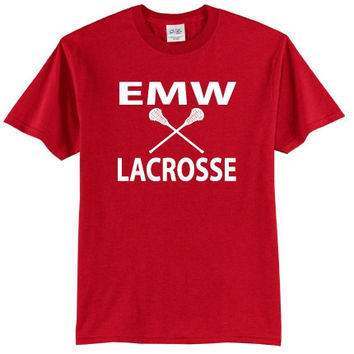 EMW Mens Lacrosse Port & Company® - Boys/Girls 50/50 Cotton/Poly T-Shirt