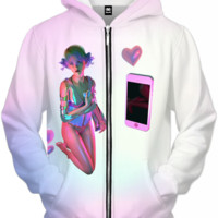 Modern Love Zip Up Hoodie