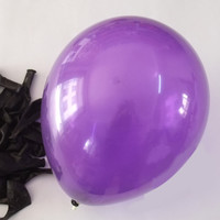 Latex Balloons Party Supplies, 12-inch, 12-piece, Purple