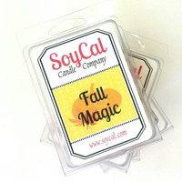Fall Magic wax melt - tart burner -fall wax tarts - fall scented wax - wickless candle