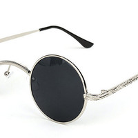 Round Sunglasses Hipster