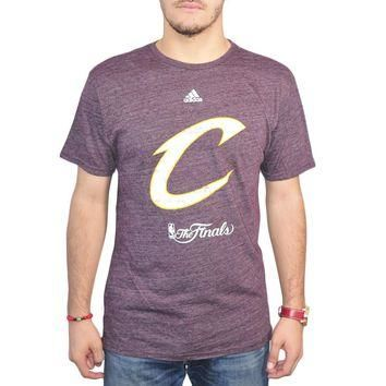 Adidas Cleveland Cavaliers The Finals 2016 Men's Purple T-shirt