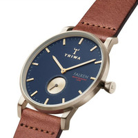 TRIWA Top brand ultrathin quartz watches men and women simple neutral fashion 3ATM watch big dial waterproof leather