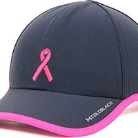 Under Armour Women's Breast Cancer Awareness BCA PIP Shadow Charcoal Pink Hat Cap
