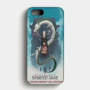 Spirited Away Poster Studio Ghibli iPhone SE Case