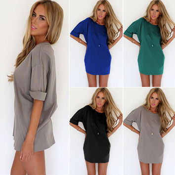 New Fashion Summer Sexy Women Dress Casual Dress for Party and Date = 4724174468