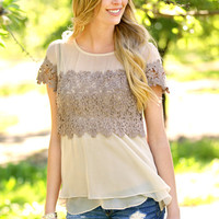 A'reve: Margaret Layered Blouse