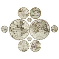 Antique Maps Decal