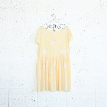 Starry Cocktail Dress - Cream