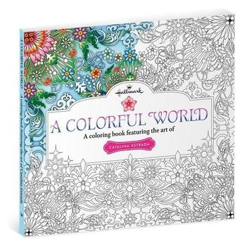 A Colorful World—A Coloring Book Featuring the Art of Catalina Estrada