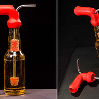 The Knockout Turns Any Beer Bottle Into A Bong