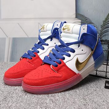 NIKE Old Skool Woman Men Fashion High-Top Sneakers Sport Shoes