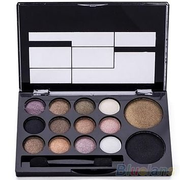 14 Colors Makeup Shimmer Eyeshadow Palette
