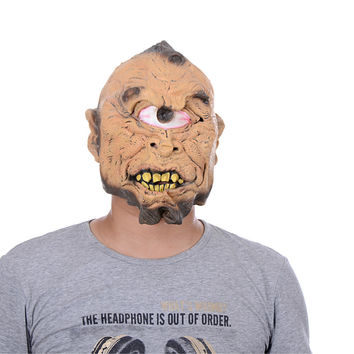 Halloween Horror Masks Adult Costume Frankenstein Latex Party Scary Mask Cosplay Prop Fancy Decor