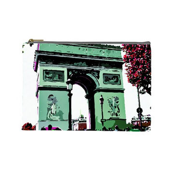 Paris L'Arc de Tiomphe Cosmetic Bag (Large)