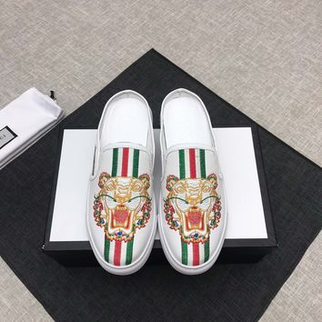 Gucci Fashion Men Casual Running Sport Shoes Sneakers Slipper Sandals High Heels Shoes