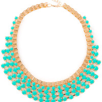 Drew B. Necklace Set - Turquoise