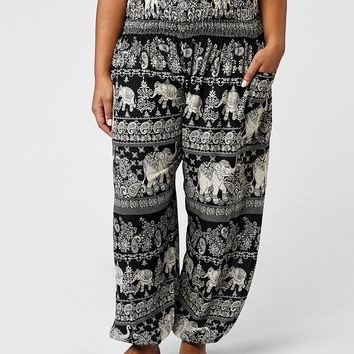 Raju Plus Size Harem Pants