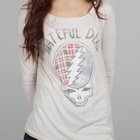 Junk Food Clothing - Grateful Dead Side Split Tee