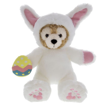 disney parks duffy the disney bear in easter bunny outfit plush new with tags