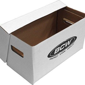 1 BCW Brand 7quot Record Album Storage Box with Removable Lid  Holds Up to 150 Vinyl Records